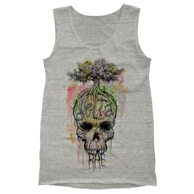 Delta Rae Watercolor Skull Tank