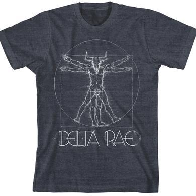 Delta Rae Vitruvian Minotaur Unisex T-Shirt