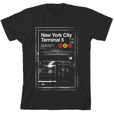 Gary Clark Jr GCJ Terminal 5 2015 T-Shirt