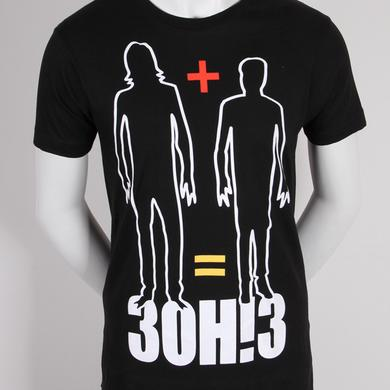 3OH!3 Math Mens Slim Fit T-Shirt