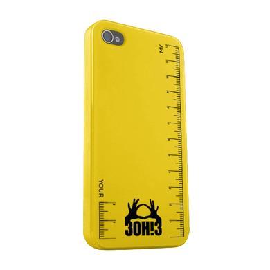 3OH!3 Ruler iPhone Case