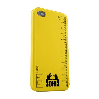 3OH!3 Ruler iPhone Case