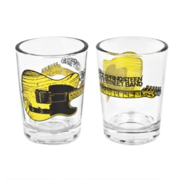 Bruce Springsteen Esquire Guitar 4oz Shot Glass