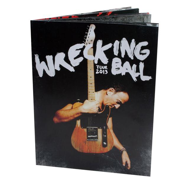Bruce Springsteen Wrecking Ball Tour Program