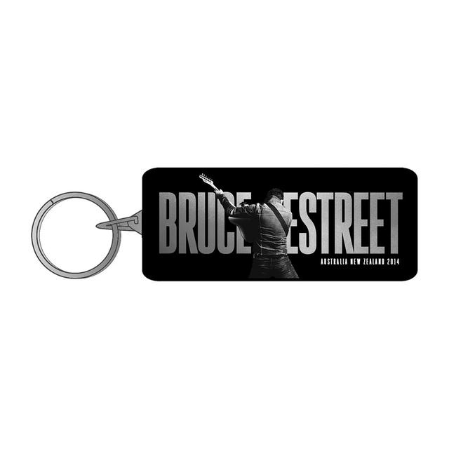 Bruce Springsteen AUS/NZ 2014 Tour Metal Keychain