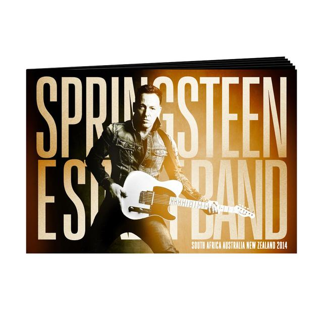 2014 Bruce Springsteen Tour Program