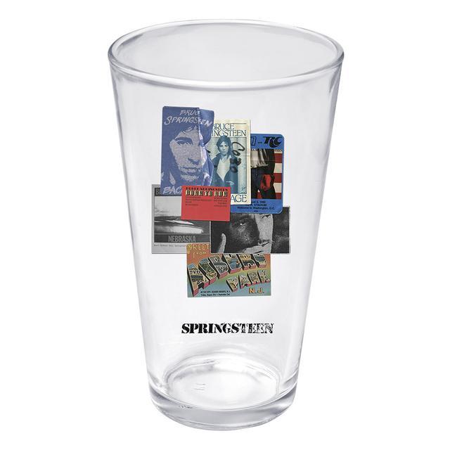 Bruce Springsteen Bruce Live Passes Pint Glass