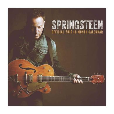 Bruce Springsteen Official 2016 Calendar
