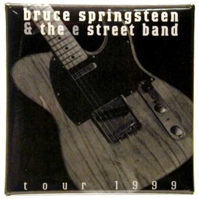 Bruce Springsteen Guitar Button