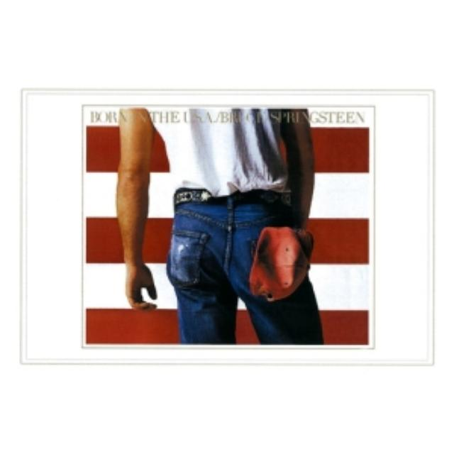 Bruce Springsteen 'Born In The USA' Lithographic Print* - Limited Collector's Edition 1/1000