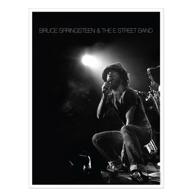 Bruce Springsteen Exclusive Lithographic Print - Live At The Bottom Line In NYC, 1975 (1-500)