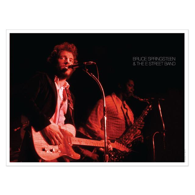 Bruce Springsteen Exclusive Lithographic Print - Bruce & Clarence Live In Philadelphia 1973 (1-500)