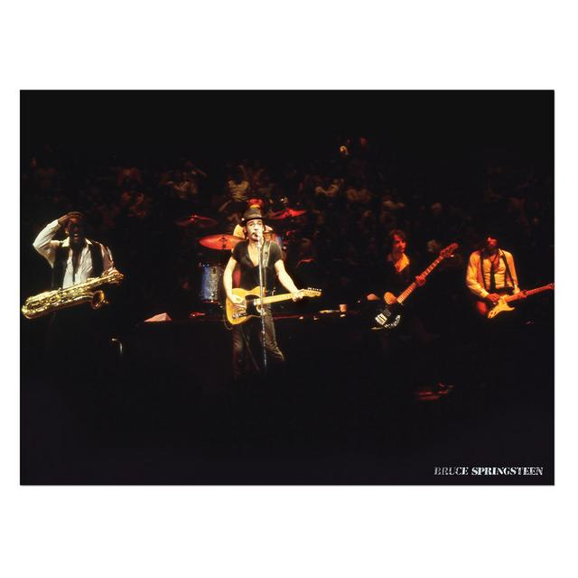 Bruce Springsteen Live Band Shot Lithographic Print (1-500)