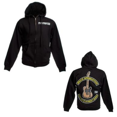 Bruce Springsteen Springsteen Guitar Zip Up Hoodie