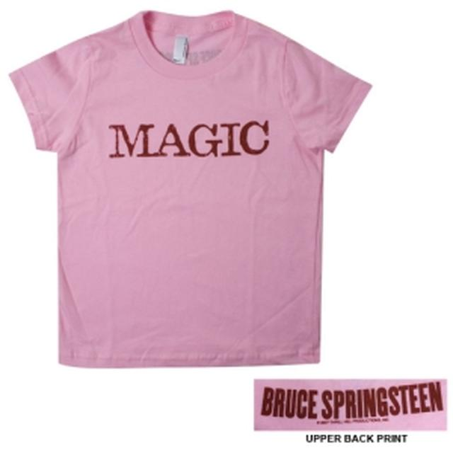 Bruce Springsteen Pink Magic Toddler Tee