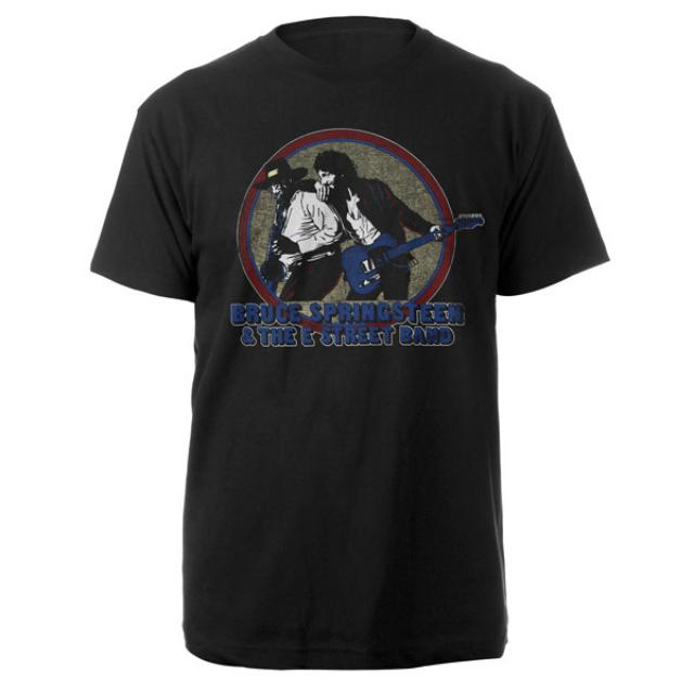 Bruce Springsteen Vintage Style Born To Run Tee