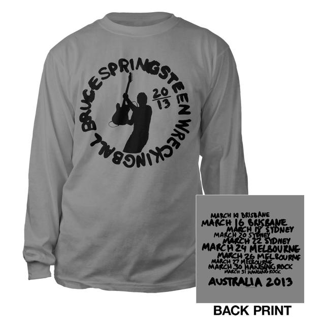Bruce Springsteen Wrecking Ball Tour Long Sleeve Tee