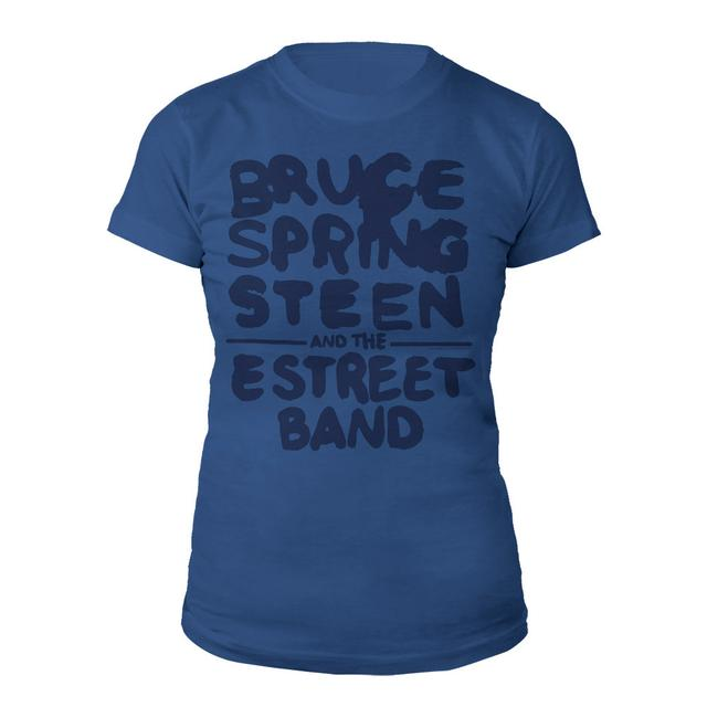Bruce Springsteen Wrecking Ball Logo Jrs Tee