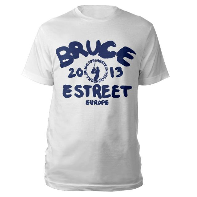 Bruce Springsteen Europe Logo Wrecking Ball Tee