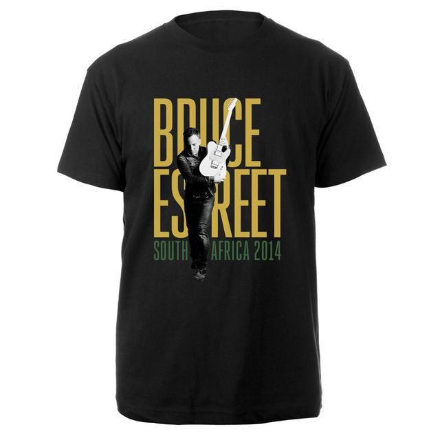 Bruce Springsteen South Africa 2014 Tour Tee