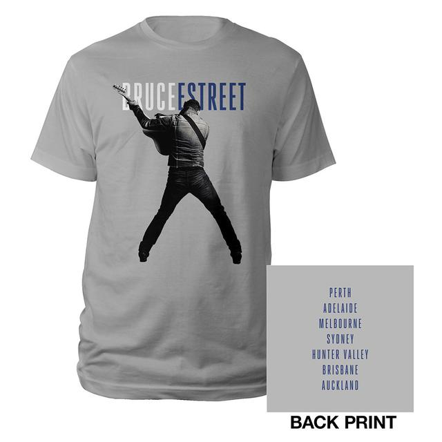 Bruce Springsteen Australia/New Zealand High Hopes 2014 Tour Tee