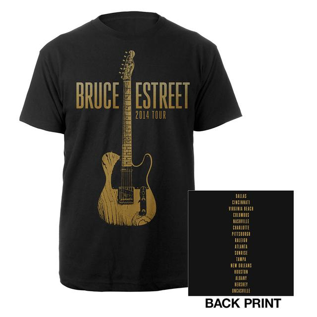 Bruce Springsteen North America High Hopes 2014 Tour Tee