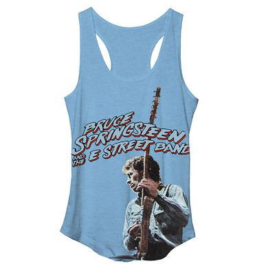 Bruce Springsteen Women's Springsteen Racer Back Tank Top