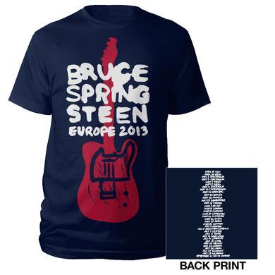 Bruce Springsteen Wrecking Ball Europe Tour Tee