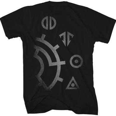 Gemini Syndrome Gear Symbols T-Shirt