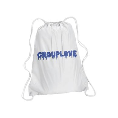 Grouplove Driptext Drawstring Backpack