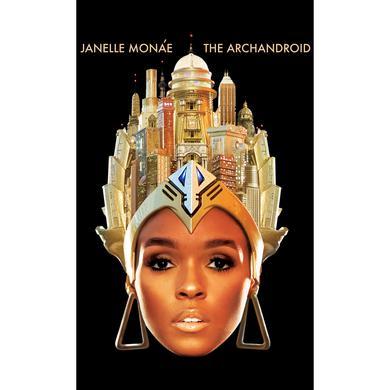 Janelle Monae ArchAndroid Face Women's T-shirt