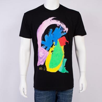 Alt-J T-Shirt | Black Painted