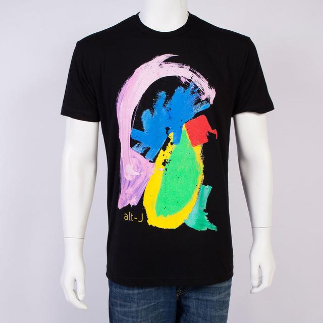 Alt-J T-Shirt | Black Painted