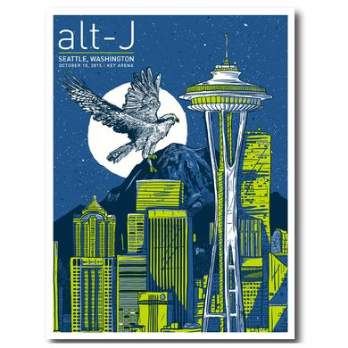 Alt-J Poster | Needle