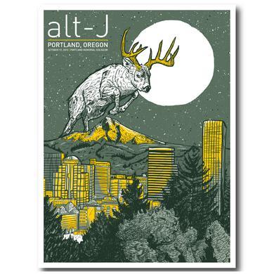 Alt-J Poster   Stag