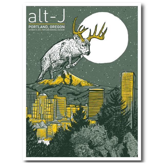 Alt-J Poster | Stag