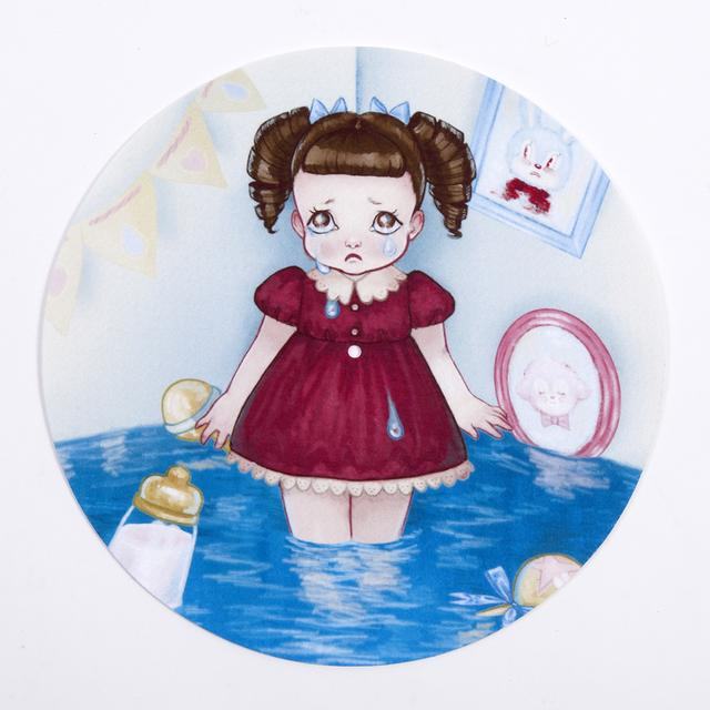 Melanie Martinez Crying Little Girl Slipmat