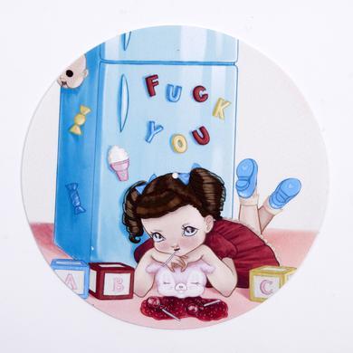Melanie Martinez Lollipop Little Girl Slipmat