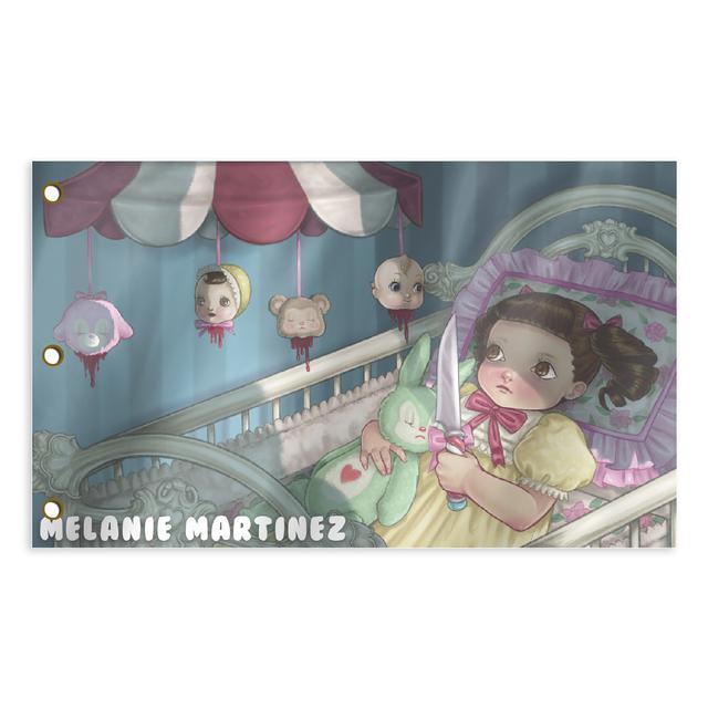 Melanie Martinez Hanging Heads Sublimated Flag (3' x 5')