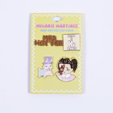 Melanie Martinez Mad Hatter Pin Pack