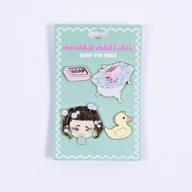 Melanie Martinez Soap Pin Pack