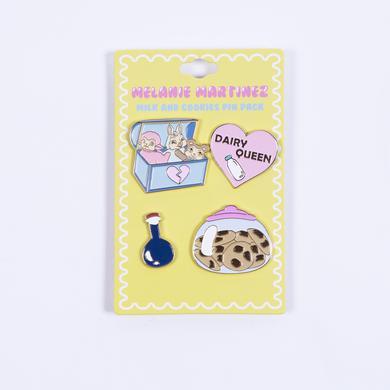 Melanie Martinez Milk & Cookies Pin Pack
