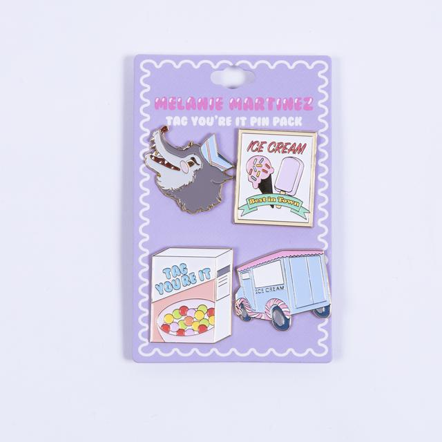 Melanie Martinez Tag You're It Pin Pack
