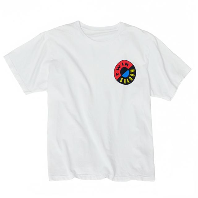 Twin Shadow White Badge T-Shirt