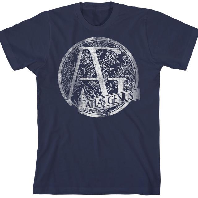 Atlas Genius Navy T-Shirt