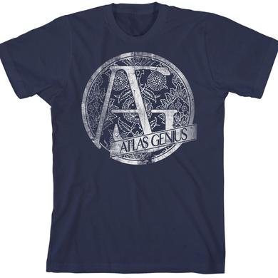 Atlas Genius Navy T-Shirt