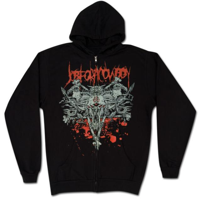 Job for a Cowboy Pentagram Zip Hoodie