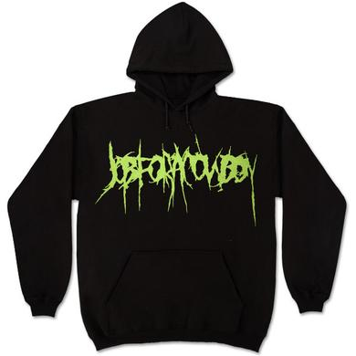 Job for a Cowboy Green Logo Pullover Hoodie