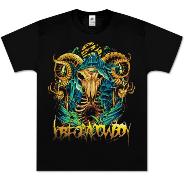 Job for a Cowboy Skull Tattoo T-Shirt