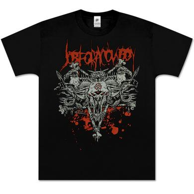 Job For a Cowboy Bone Pentagram T-Shirt